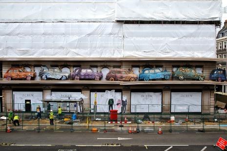 J.Crew Regent St Store Exterior Shots