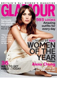 Glamour July14<br />  Alexa-Chung