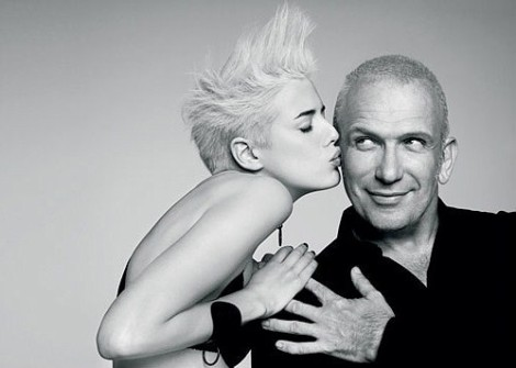 Agyness Deyn and Jean Paul Gaultier